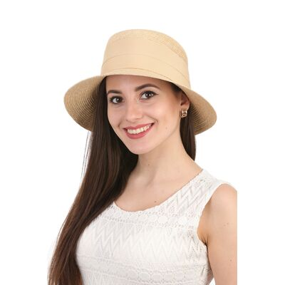 Шляпа женская соломенная