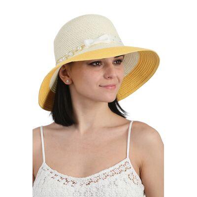 Шляпа молочная с желтым