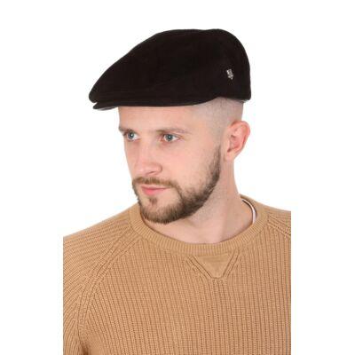Кепка замшевая черная мужская