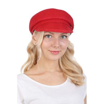 Картуз женский красный
