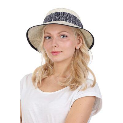 Шляпа из тонкой соломки