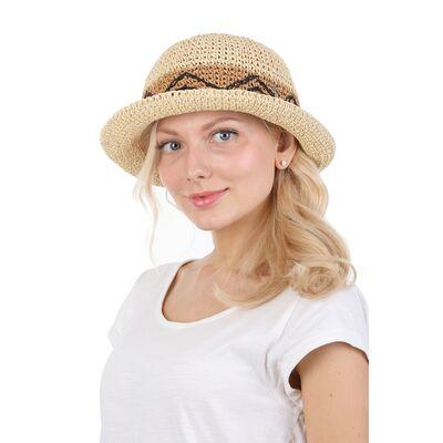 Шляпка мягкая с маленькими полями