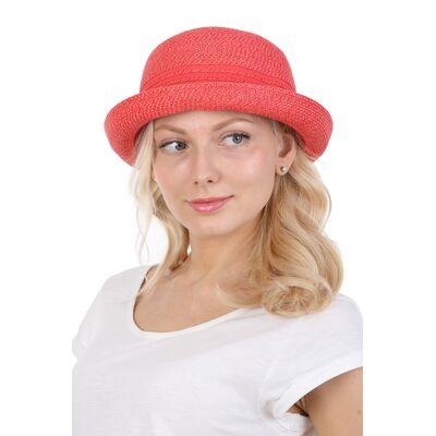 Мягкая шляпка летняя котелок