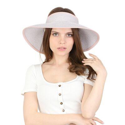 Шляпа без тульи бежевая