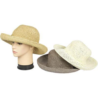 Шляпа женская плетеная