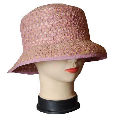Панама женская розовая