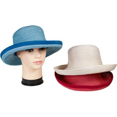 Легкая летняя шляпа