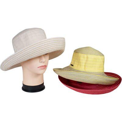 Элегантная летняя шляпа