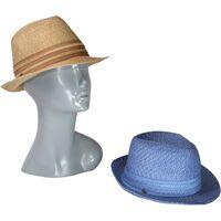 Шляпа трилби летняяфото
