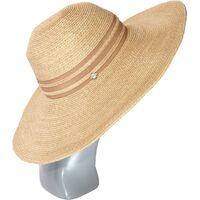 Шляпа мягкая с большими полями коричневаяизображение