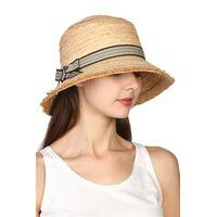 Шляпа из соломы с квадратной тульейфото
