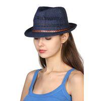 Шляпа унисекс синяяизображение