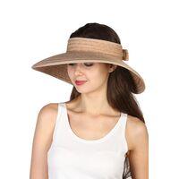 Шляпа без тульи из натуральной соломыизображение