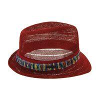 Шляпа унисекс краснаяфото