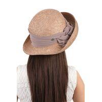 Шляпа с поднятыми полями коричневаяизображение