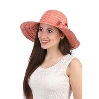 Соломенная шляпа розоваяизображение