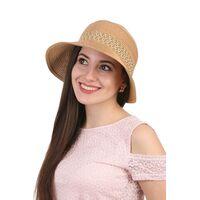 Шляпа женская бежеваяфото