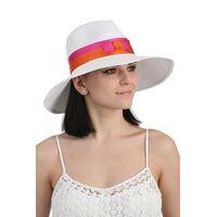 Шляпа федора белаяизображение