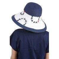 Шляпа с большим полями украшенная вышивкойизображение