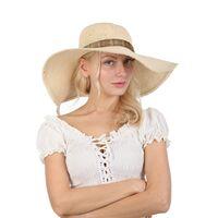 Шляпа с большими мягкими полямиизображение