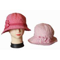 Шляпа тканевая светло-розоваяизображение